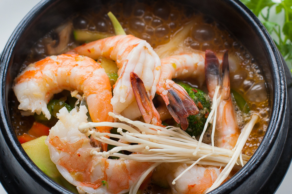 Shrimp With Butter Sauce